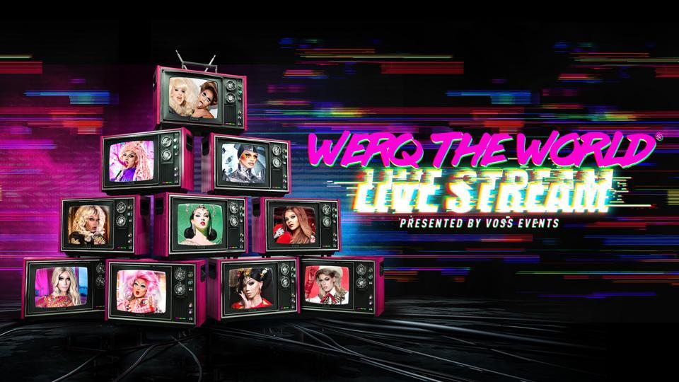 Drag goes live (stream)
