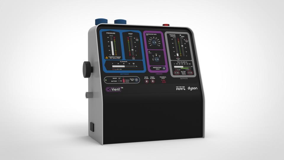 CoVent: Dyson's ventilator
