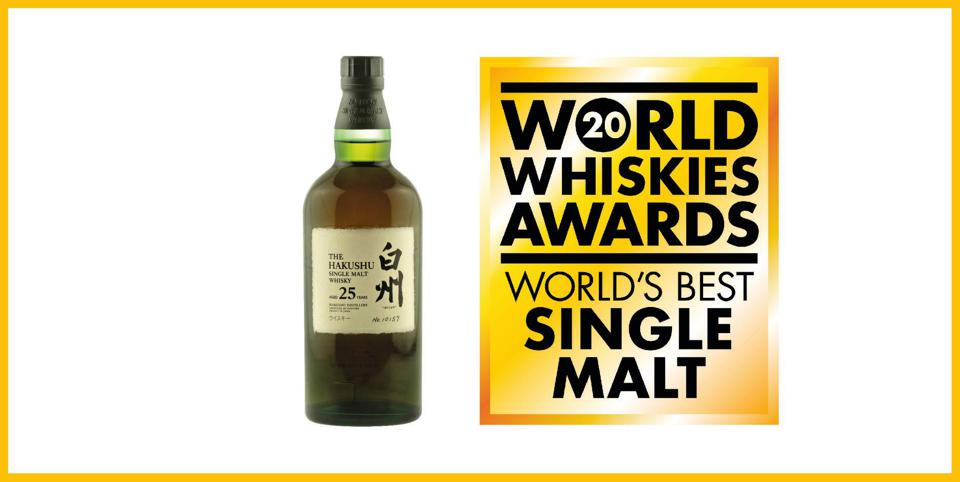 Japanese Whisky Declared 'World's Best Single Malt' At The World Whisky Awards