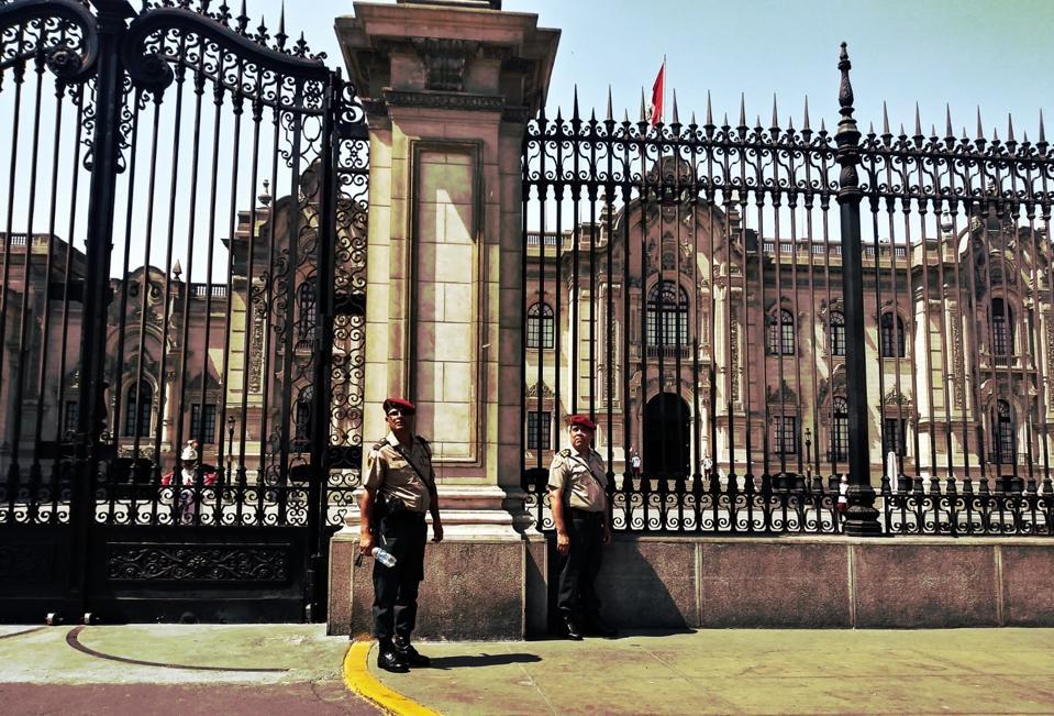 Palacio de Gobierno del Presidente del Perù