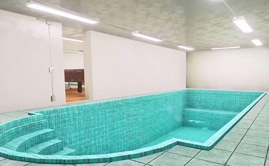 Swimming pool in the Aristocrat bunker