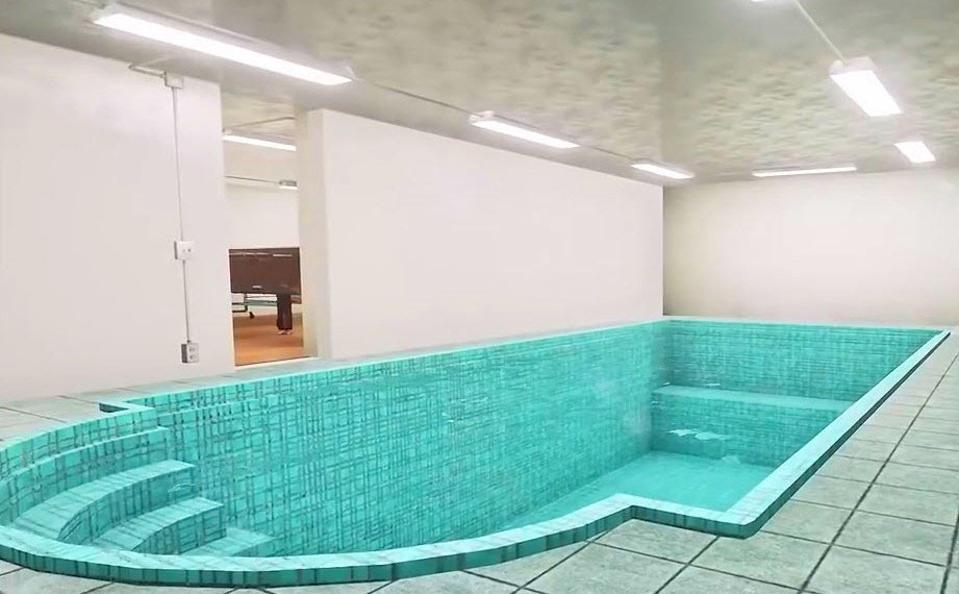 Swimming pool in the Aristocrat bunker