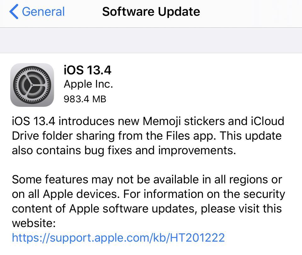Apple iOS 13.4, iPhone upgrade, iOS 13.4 upgrade, iPhone problem, iPhone data, iPhone Bluetooth
