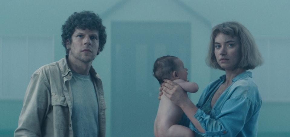 Jesse Eisenberg, interview, Imogen Poots, Vivarium, review, streaming, Batman v Superman
