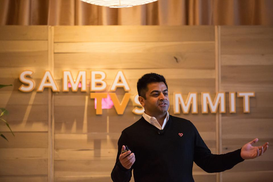 Samba TV Cofounder and CEO and Ashwin Navin has been betting on connected TV for a decade.