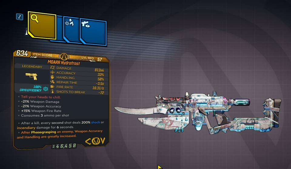 Here Are All 29 New Legendaries In Borderlands 3 S Love Guns And Tentacles Dlc