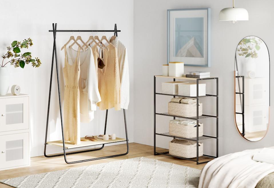 closet organization wayfair