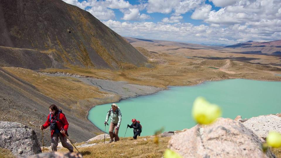 Glacial Lake Mongolia, Women's Adventure Travels