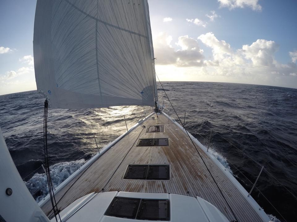 Yachts like this Jeanneau 64 and many others are on display in ″virtual boat shows.″