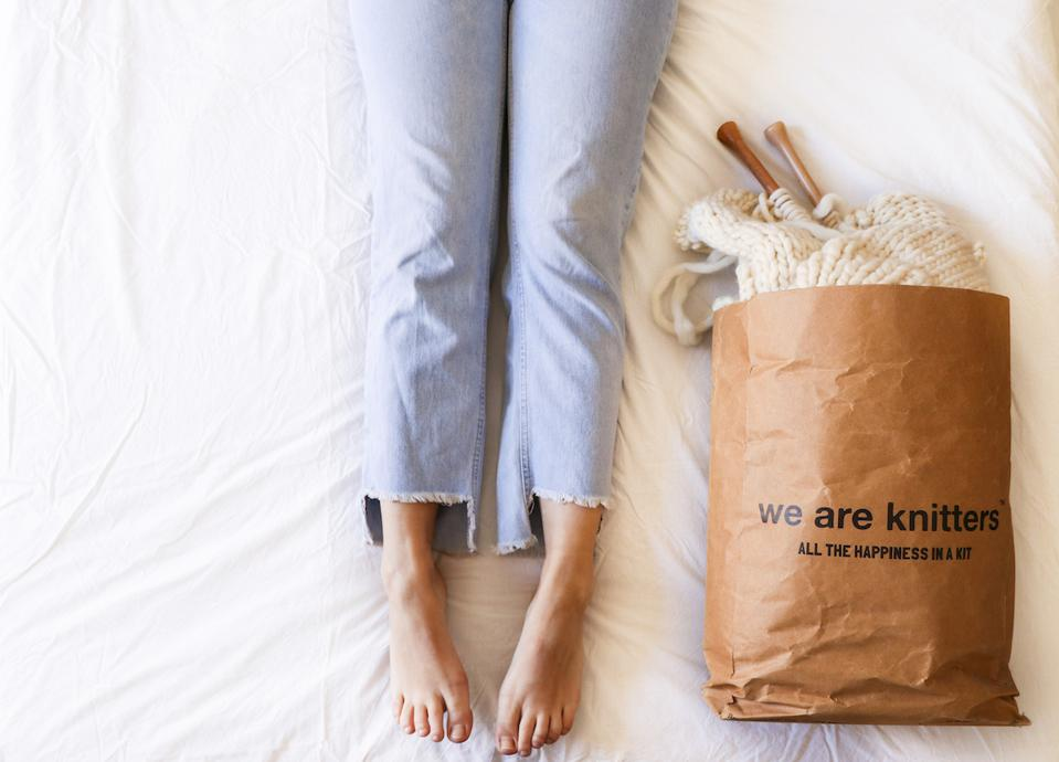 We Are Knitters offers All the Happiness in a Bag.