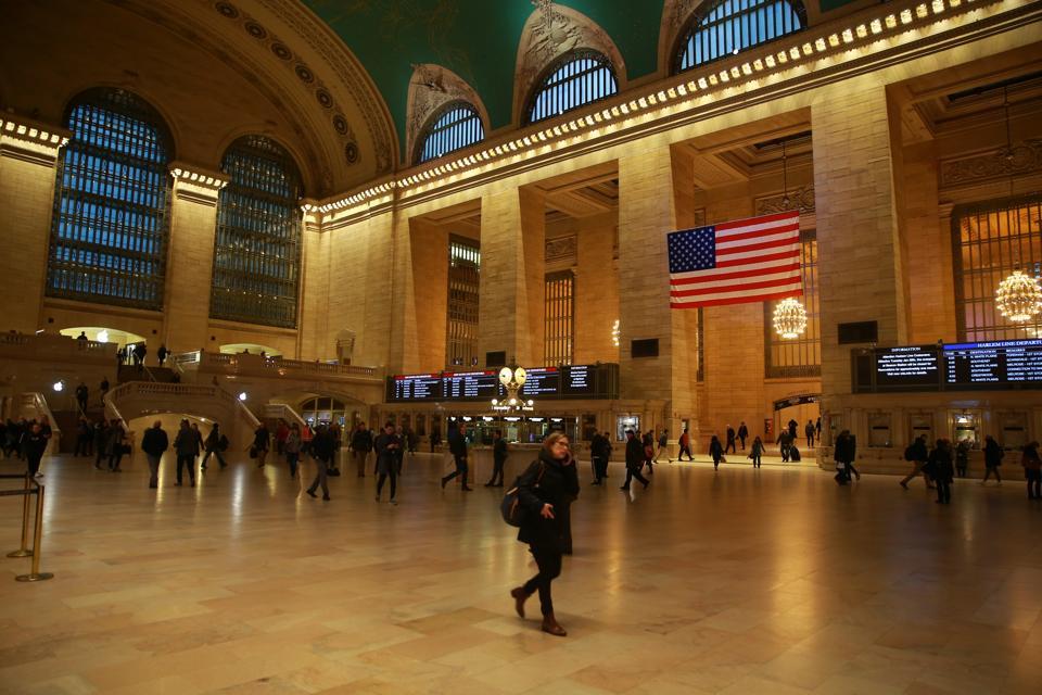Near Empty Grand Central Terminal