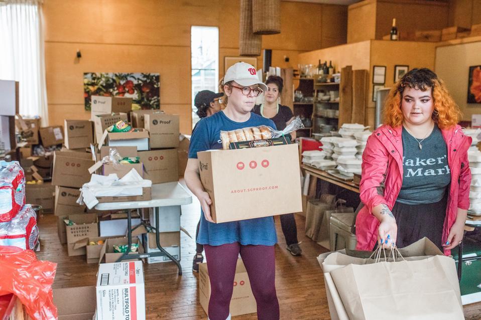 Louisville Restaurant Workers Relief Edward Lee Maker's Mark 610 Magnolia Food Industry