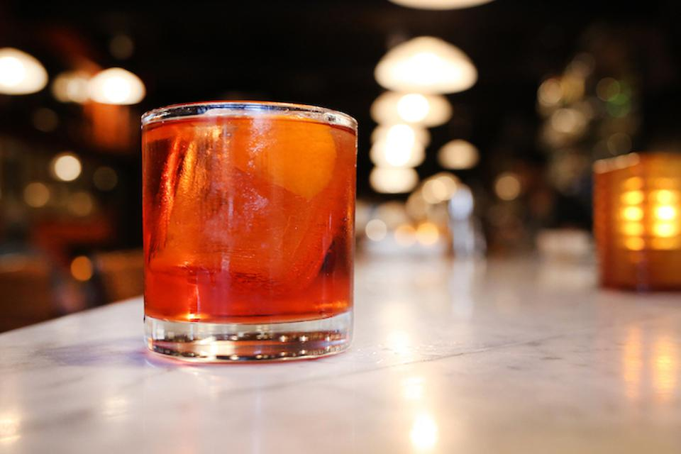 Easy Cocktail Recipes_Negroni_Osteria Morini
