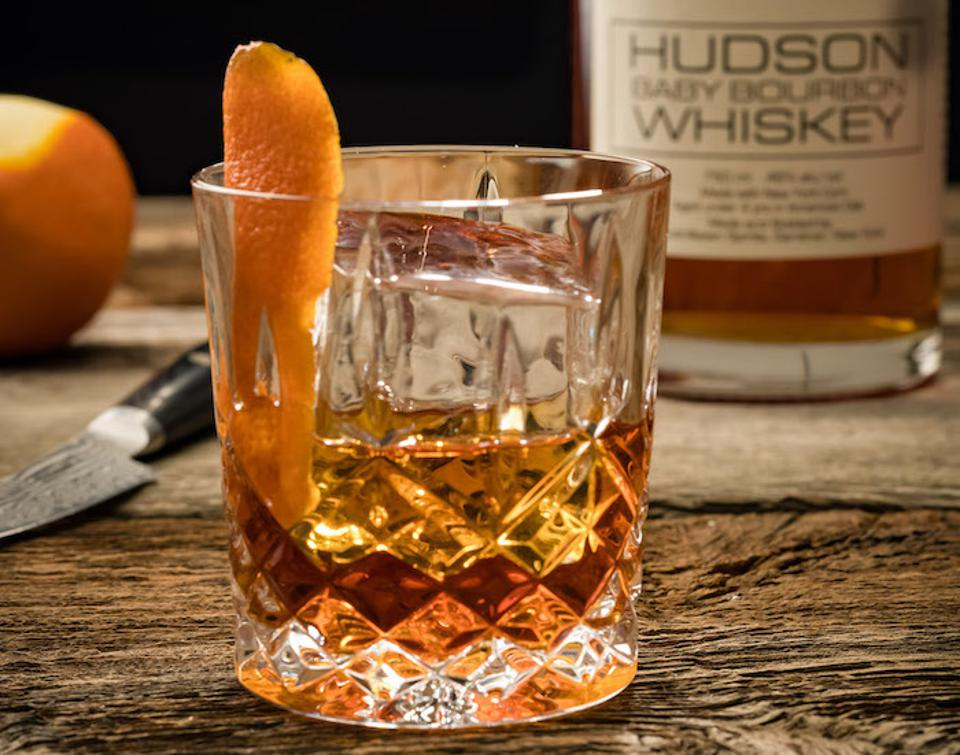 Easy Cocktail Recipes_Old Fashioned_David Powell Hudson Bourbon