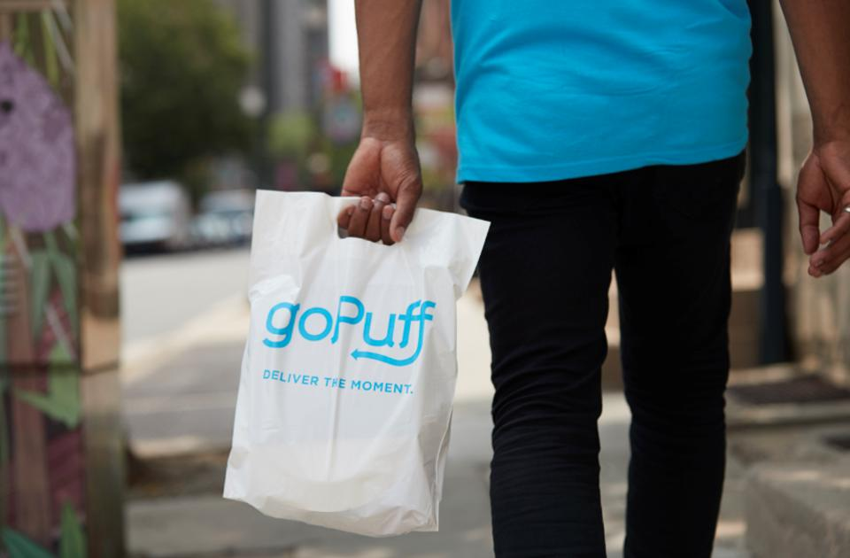 GoPuff is best-known for delivering late-night munchies to college students. With many campuses closed, it is now looking to ramp up grocery deliveries to healthcare workers.
