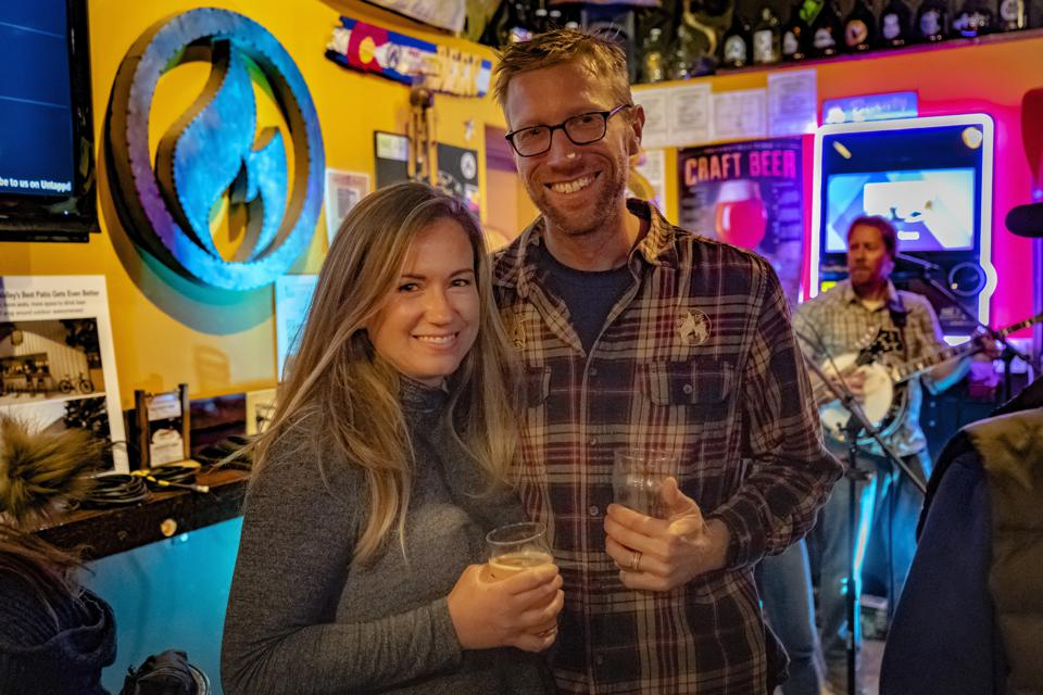 Bonfire Brewing co-owner Andy Jessen and his wife, Amanda, launched the brewery outside Vail in Eagle, Colorado, in 2010.