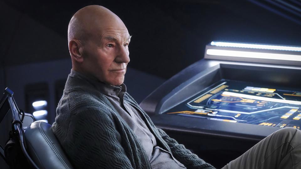 Patrick Steward Picard CBS