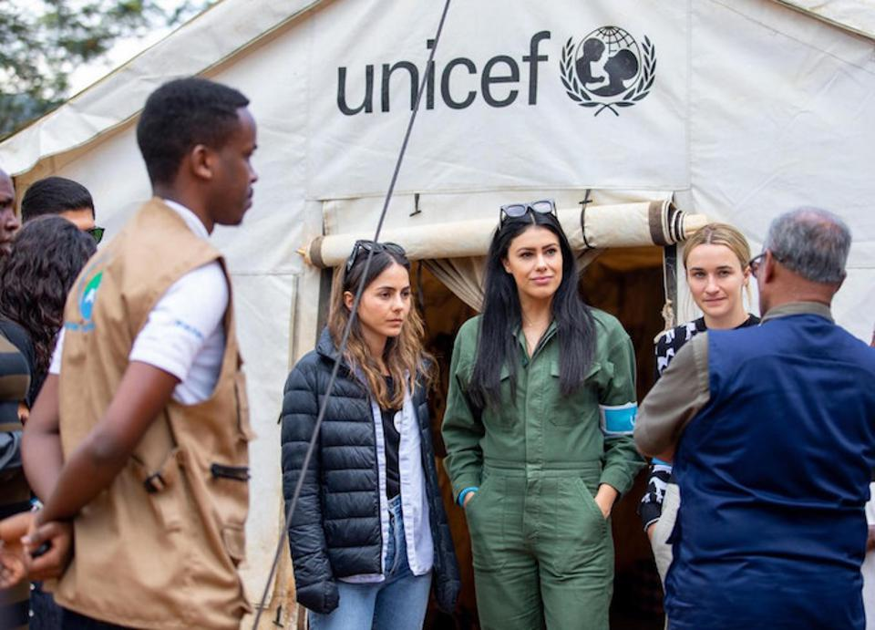 In February 2020, a delegation from UNICEF USA and UNICEF NextGen visited Rwanda to learn about UNICEF programs in early childhood development, child health, Ebola prevention, and private sector engagement.