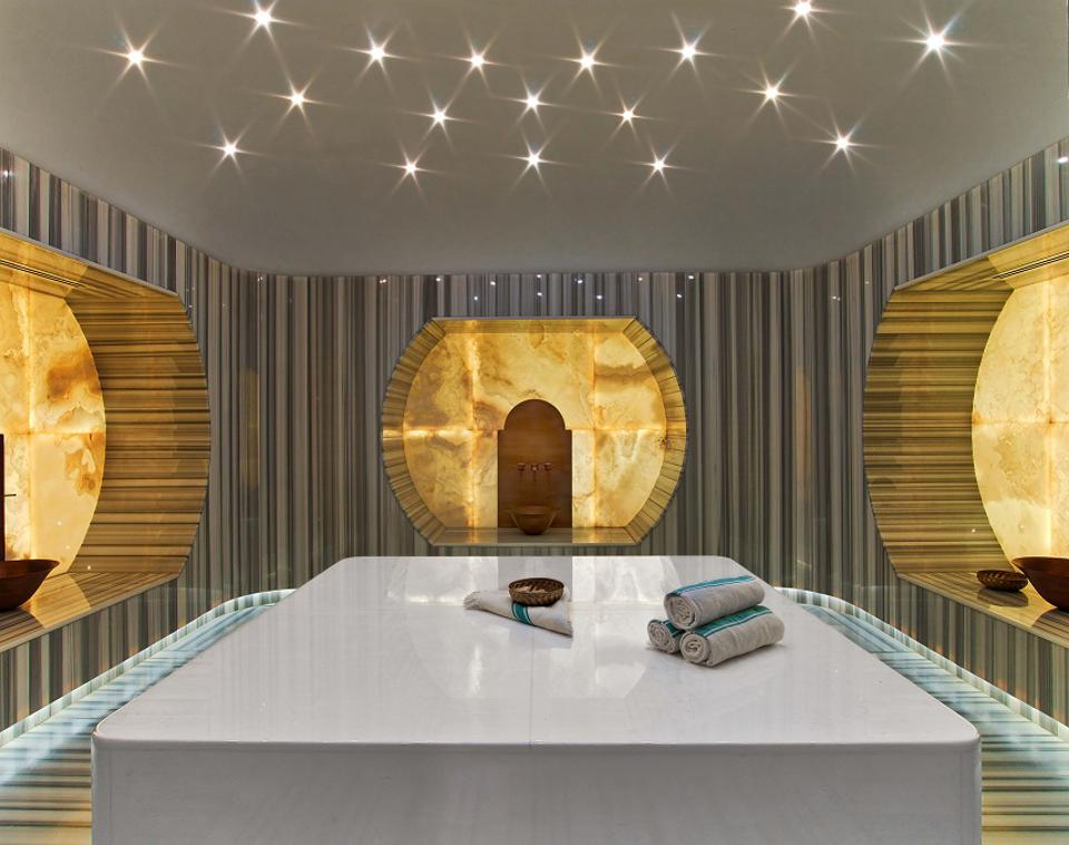 Interior modern spa in Istanbul.