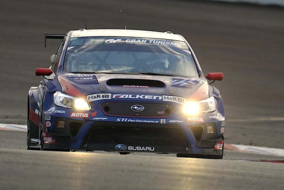 The 2020 WRX STI NBR Challenge car tests at Fuji Speedway in February.