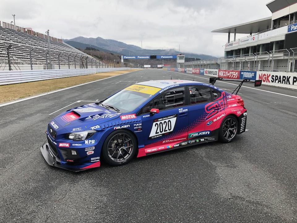 Subaru's STI team has captured 6 class victories at Nurburgring in the WRX.