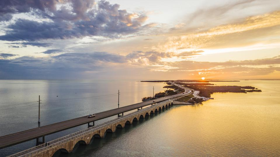 Seven Mile Bridge, the Florida Keys
