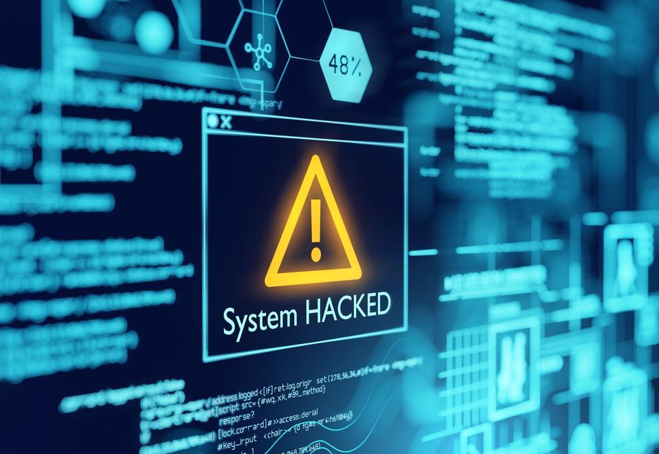 Počítačový systém napadl varování