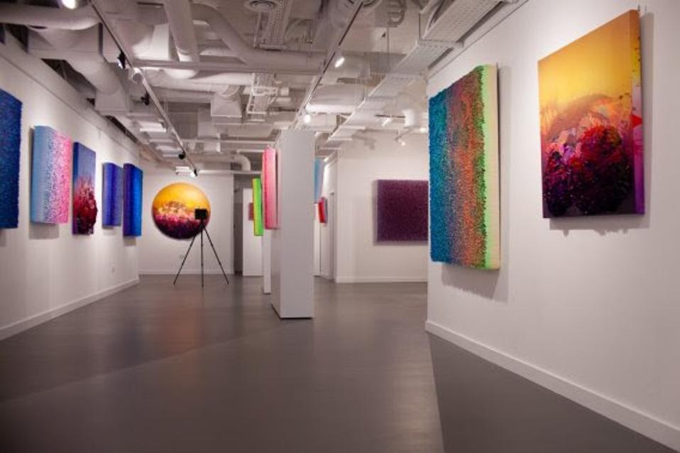 The new Nova exhibition by artist Zhuang Hong Yi at HOFA Gallery, London.