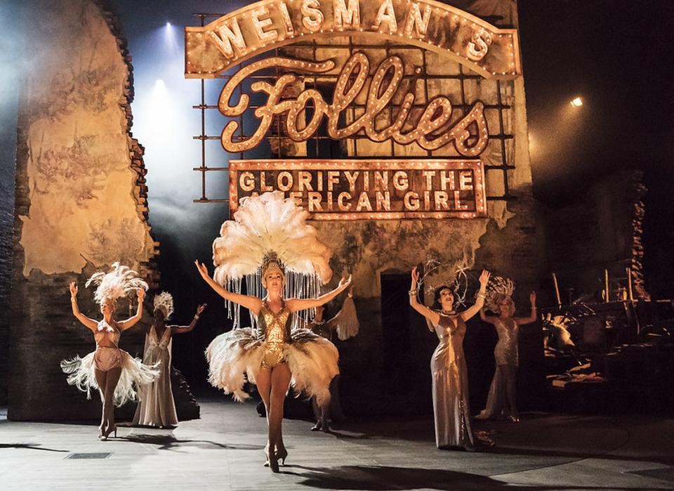 Stephen Sondheim's Follies was recorded for NT Live in 2019.