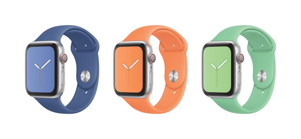 Apple Watch with fetching Sport Bands