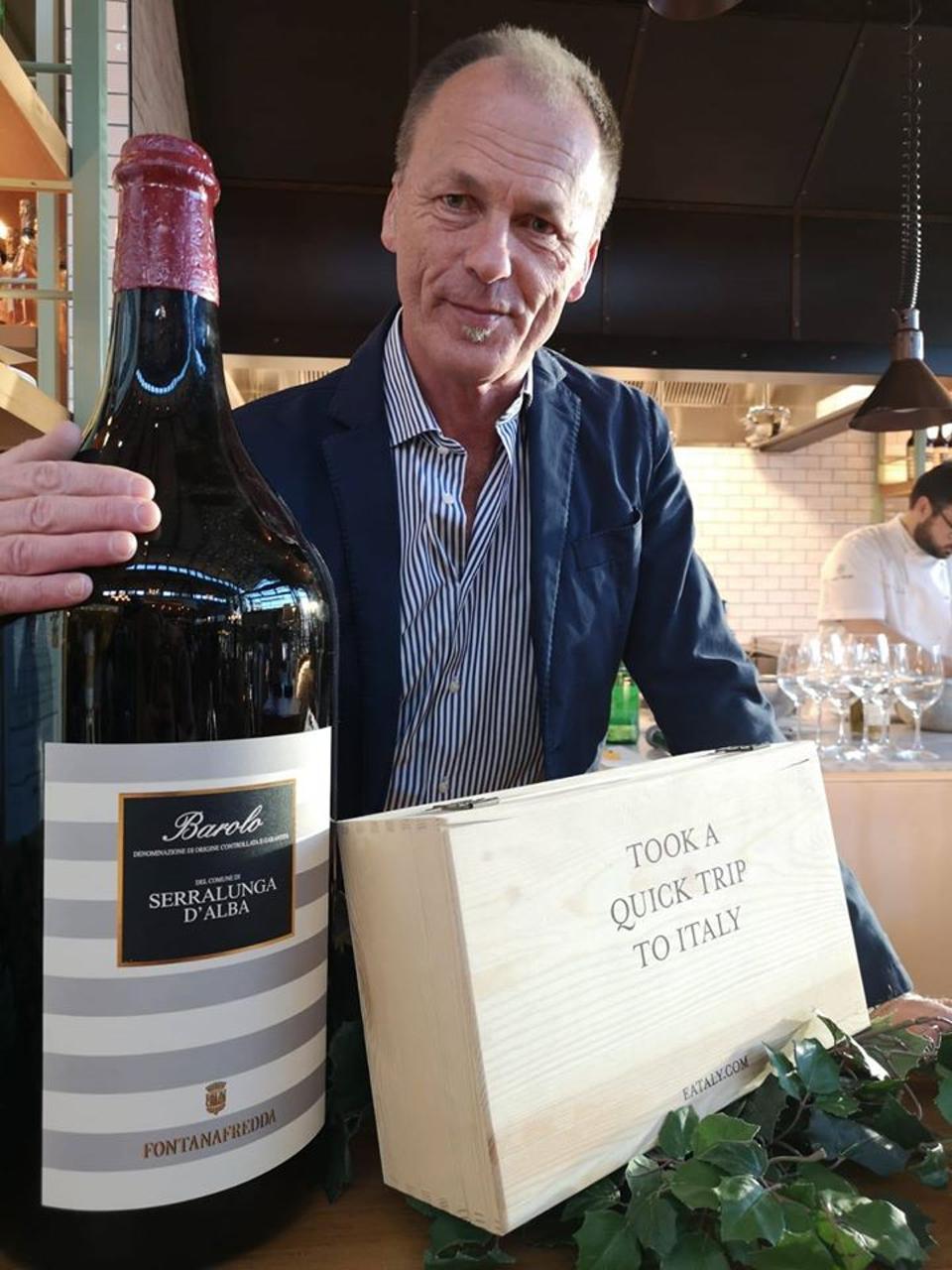 Giorgio Lavagna is the chief winemaker at Fontanafredda