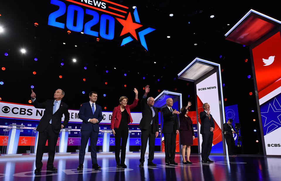 Democratic Candidates Debate in Charleston, US