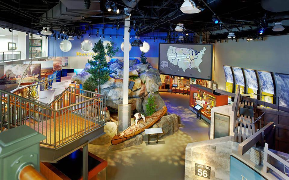 National Mississippi River Museum & Aquarium in Iowa