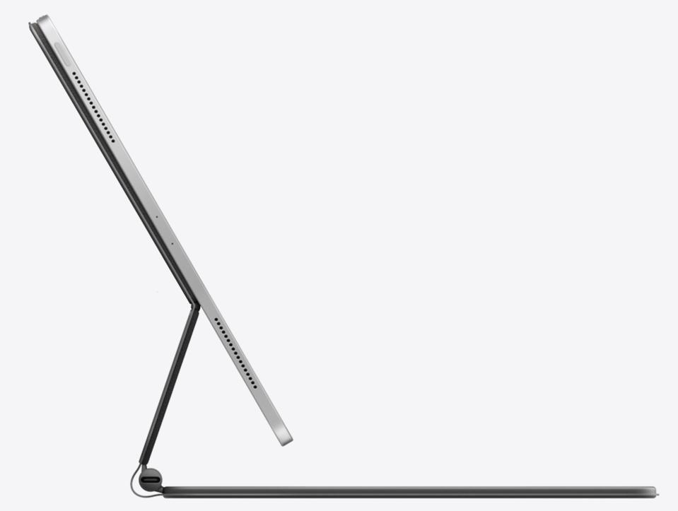 The 2020 12.9-inch iPad Pro is packed with advanced tech such as face ID, LiDAR Scanner, Three-axis gyro Accelerometer, and Barometer. MacBook Air does not have these kinds of features.