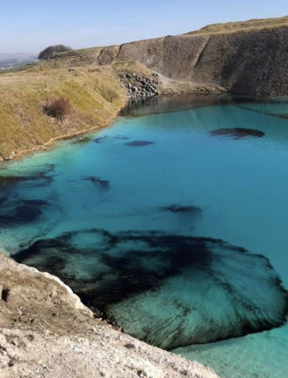 Buxton Blue lagoon closed