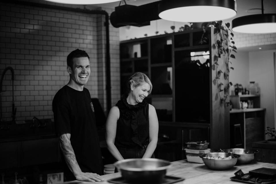 Natasha and Ed Tatton, the husband-and-wife team who run the Ed's Bakery in Whistler, B.C.