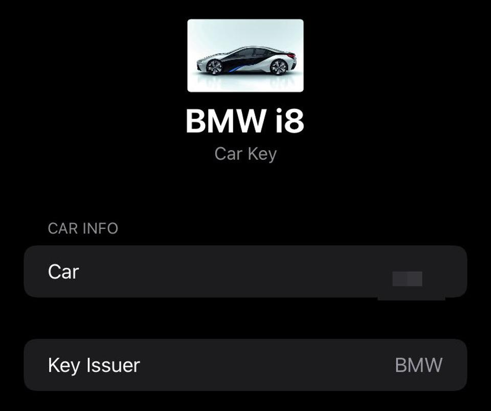 BMW looks like being involved in CarKey
