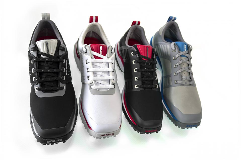square toed golf shoes