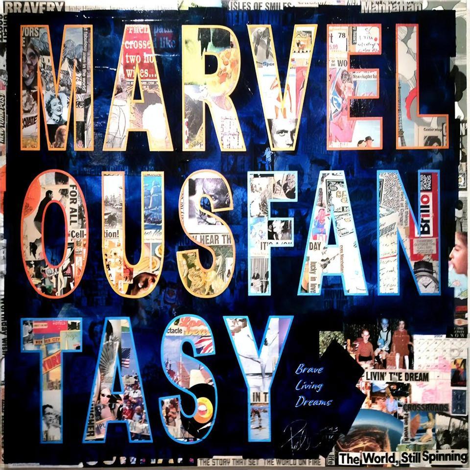 Marvelous Fantasy cover