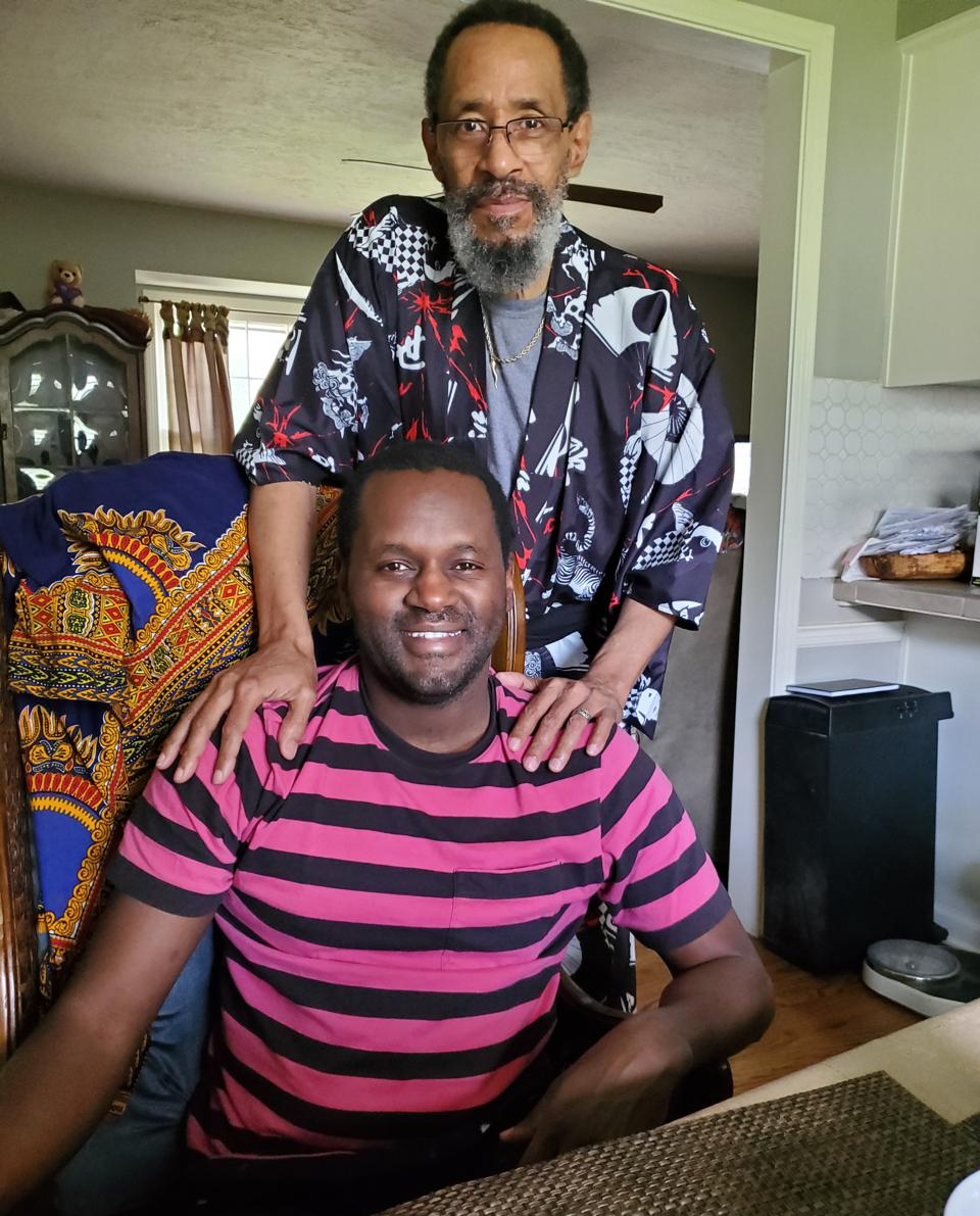 Harold O'Neal and his father
