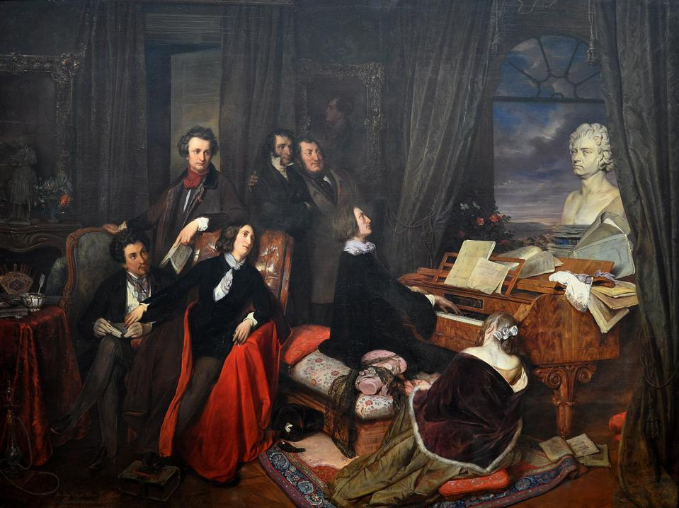 Franz Liszt and Friends