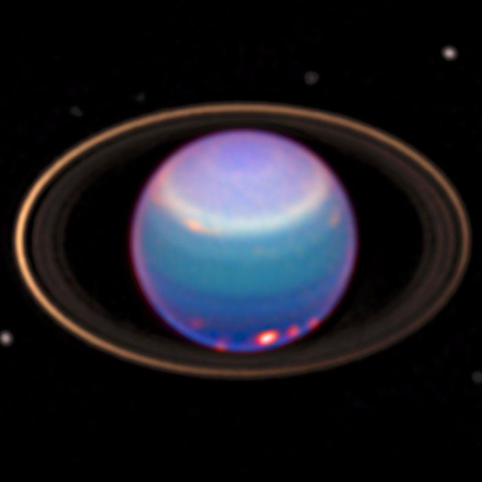 Uranus has rings.