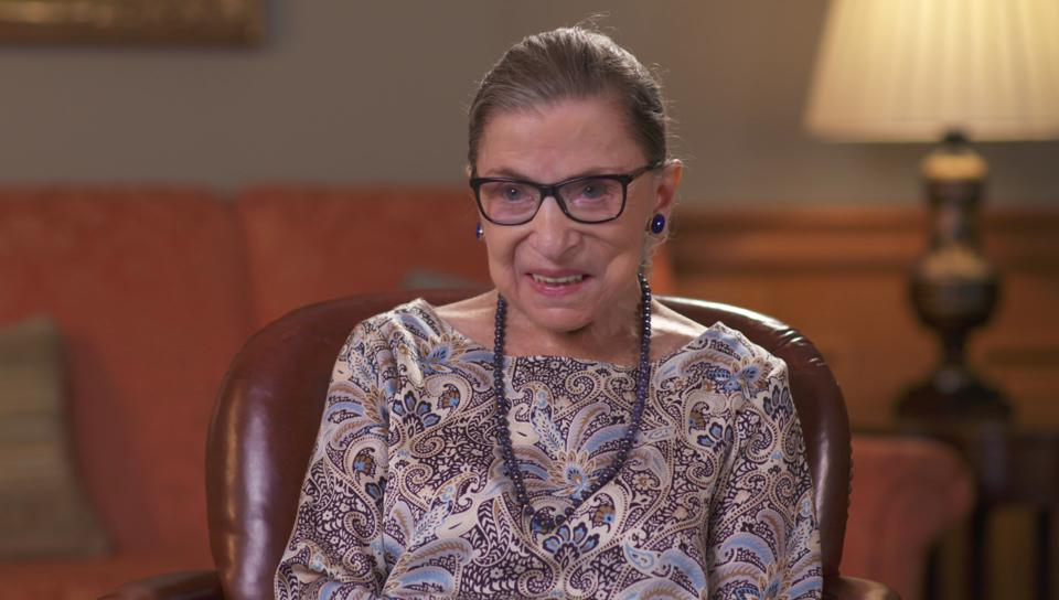Ruth Bader Ginsburg in The Automat