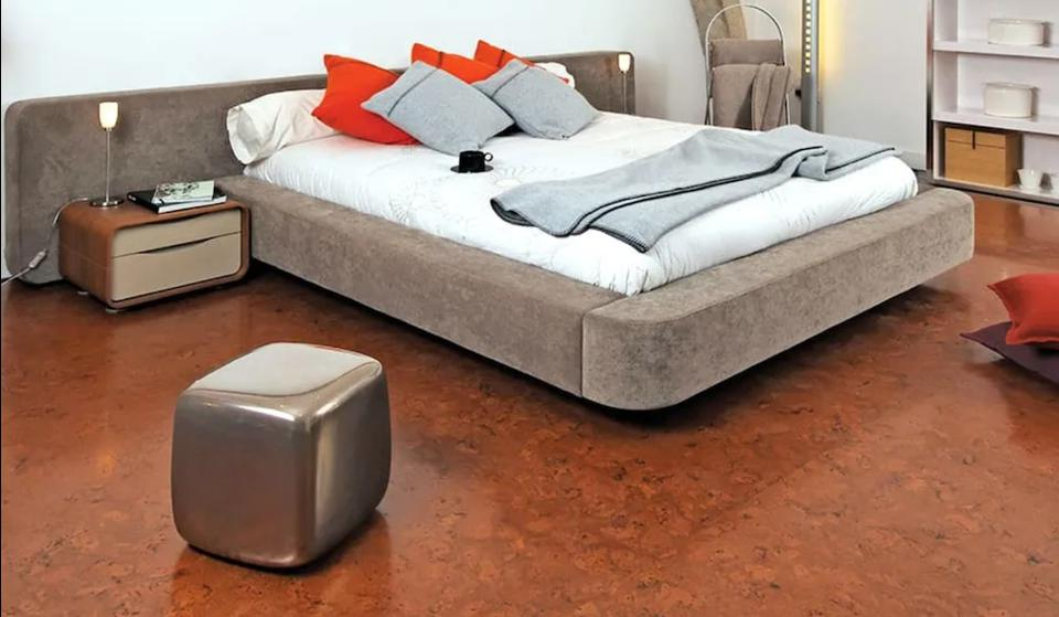 Cork flooring is naturally antimicrobial.