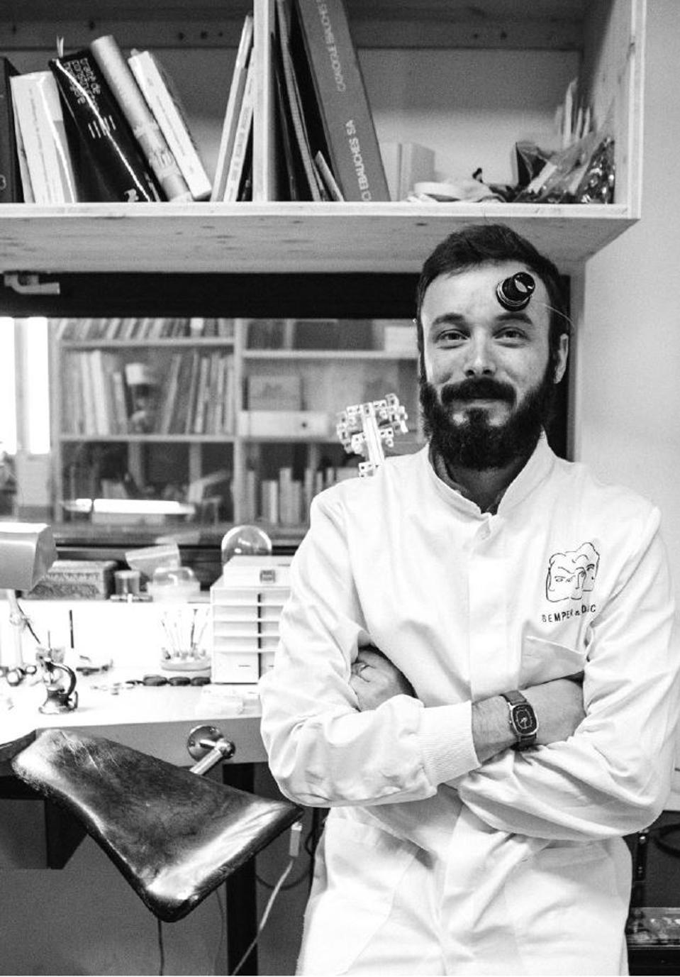Colin de Tonnac, founder of Semper & Adhuc based in Bordeaux, France.