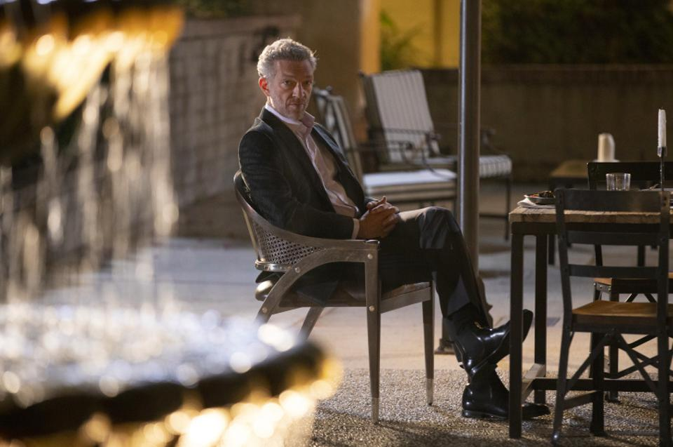 Vincent Cassel is Serac in Westworld. He is the brains behind the corporate takeover of Delos Destinations.