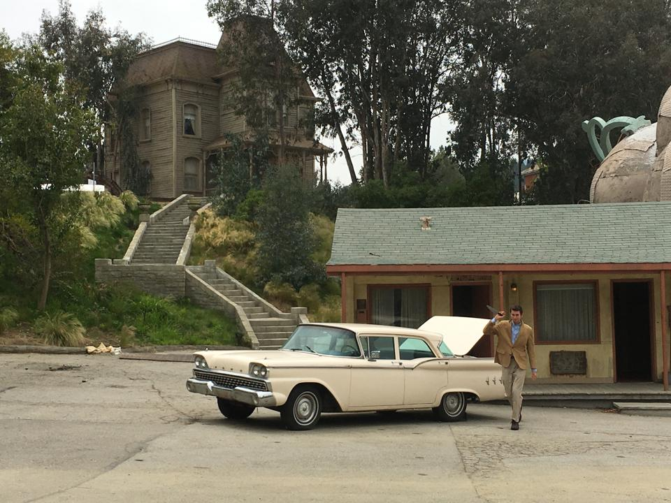 The set of Alfred Hitchcock's ″Psycho″ on the Universal Studios Backlot Tour