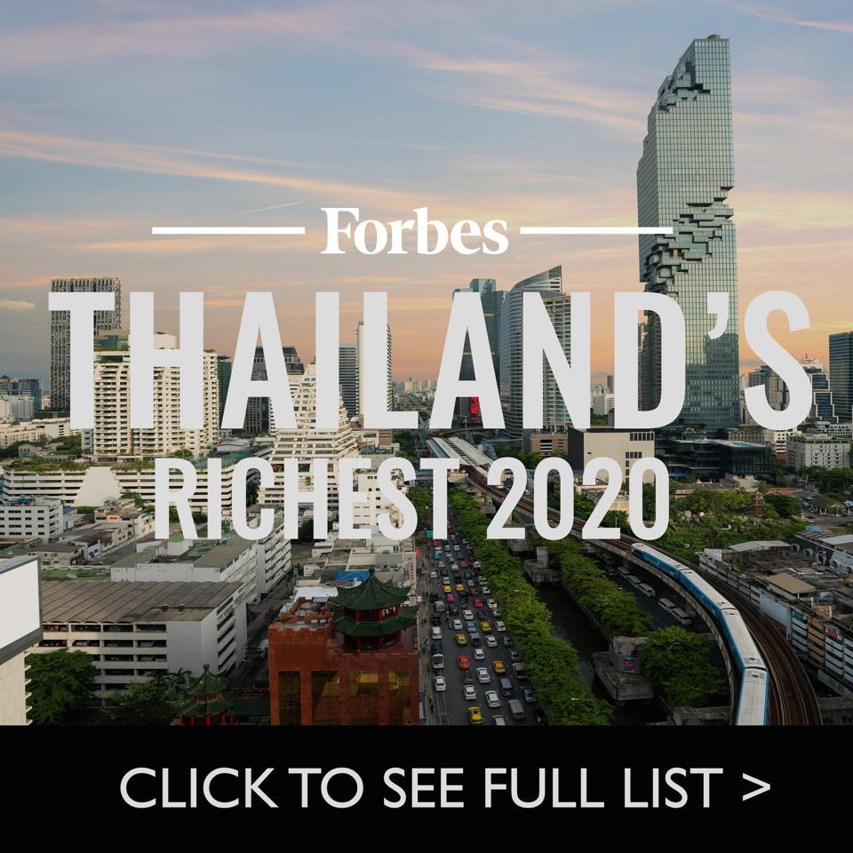 Thailand's Richest 2020