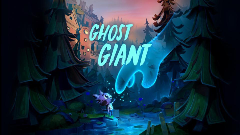 Take GhostGiant VR screen