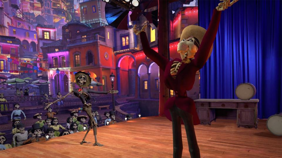 COCO VR stage screengrab